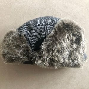 Toddler Winter Hat With Fur Flaps